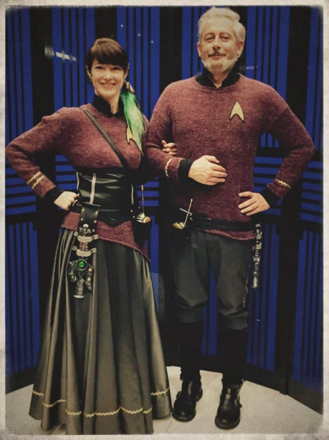 mrmrs 655x877 Steampunk Star Trek